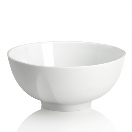Degrenne Paris 'L'Econome by Starck' White Turnip Round Bowl 14cm